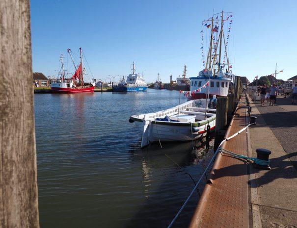 Büsum Fischerei Haupthafen